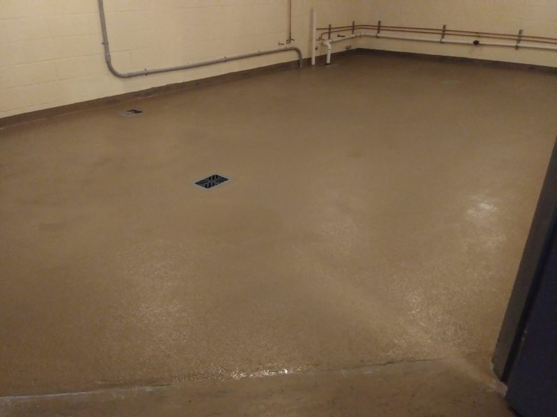 Harrison County Detention Center, Sherwin Williams Epoxy System. SSI in Mobile, Alabama