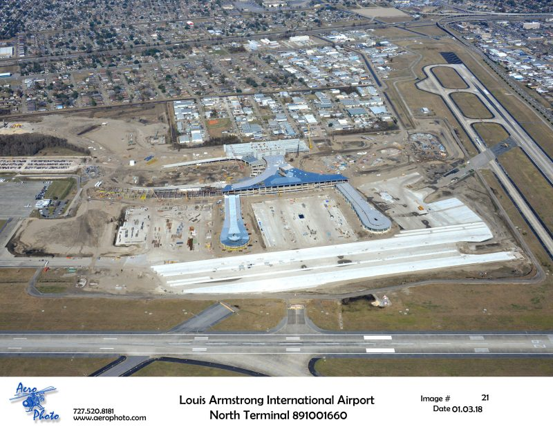 Louis Armstrong International Airport, North Terminal Project