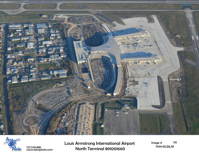 Louis Armstrong International Airport North Termial Progress