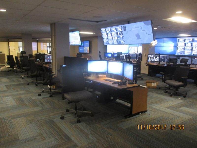 Real Time Crime Monitoring Center