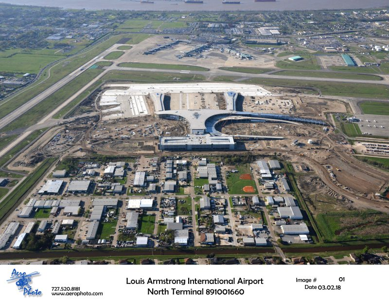 Louis Armstrong International Airport North Terminal Progress